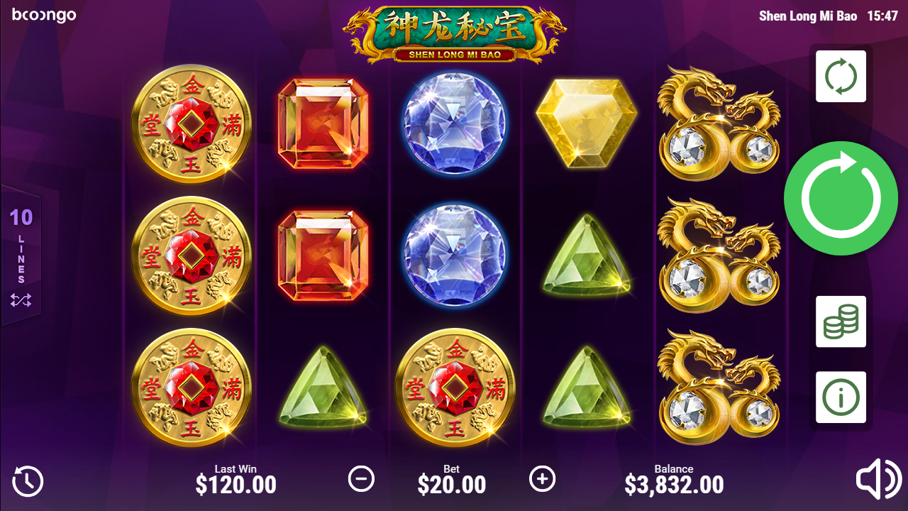 Spiele Shen Long Mi Bao - Video Slots Online
